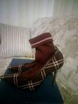 Ботинки полусапожки туфли Dolce&Gabana оригинал Италия в идеале