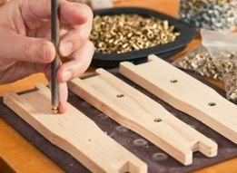 Боковые латунные втулки для рамок 11000 штук (1кг) Латунь