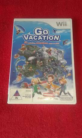 Wii Go Vacation for sale