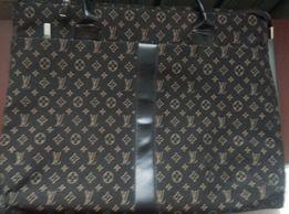 Женская сумка портфель кейс Louis Vuitton для ноутбука и документов.