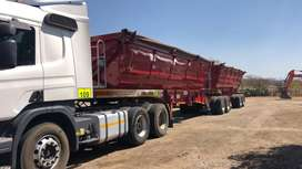 SA Truck Bodies Link Side Tippers