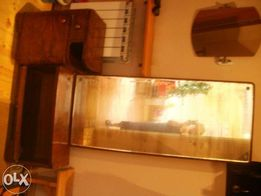 Stara toaletka szafka z lustrem drewniana tanio .