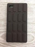 Etui case czekolada iphone 4 4s sluchawki douszne misie pomaranczowe