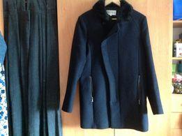 Пальто чёрное шерстяное для мальчика (юноши)