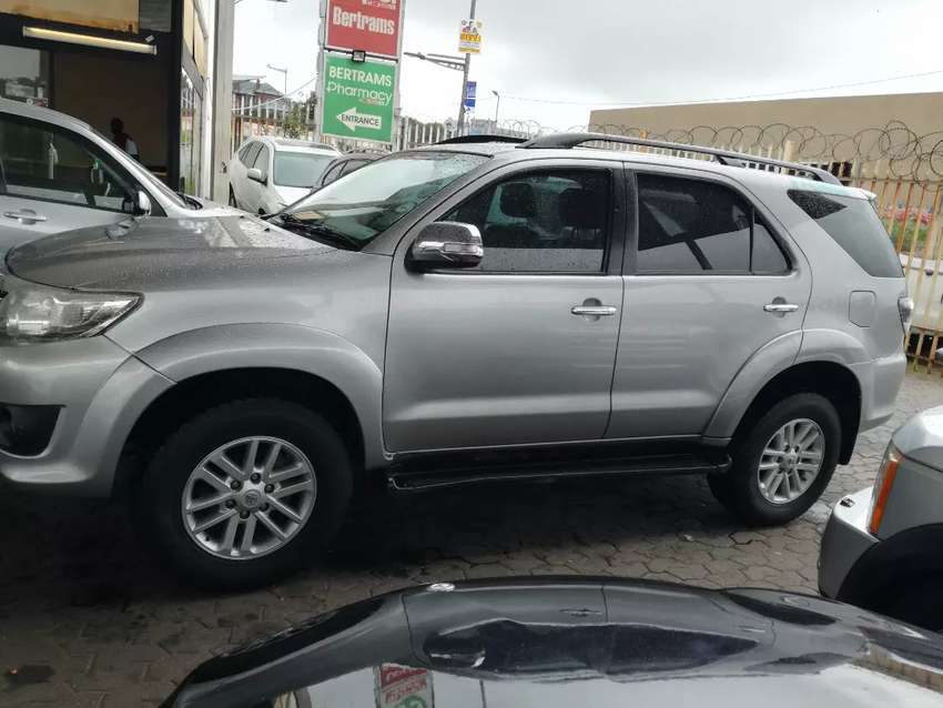 2015 Toyota Fortuner 3.0D 4D Automatic 113,000km R240,000 0