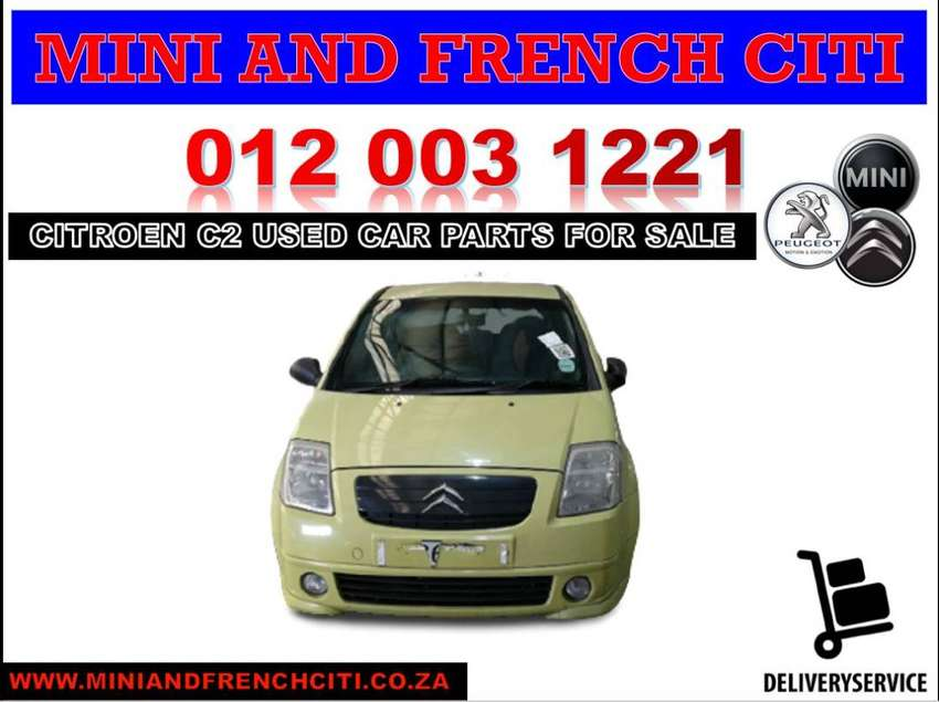 Citroen C2 stripping for used spares and parts for sale 0