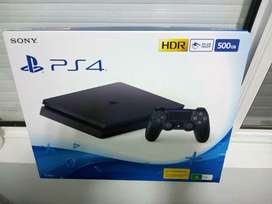 Ps4 slim sealed 500gb Playstation 4 never used console complete