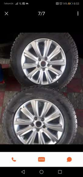 "18"" Amarok mag wheels only for r8000."