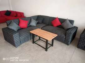 Brand new corner couches for sale right at the factory shop for R3499