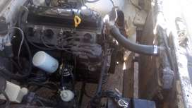 Toyota 4y engine and gearbox