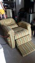 Кресло-кровать на пульте управления