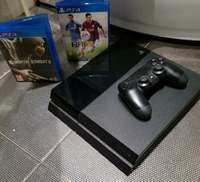 Image of Like new PlayStation 4, 1TB/ 1000gb slimline with 5 original games..