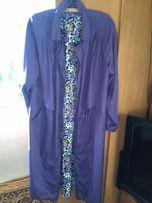Liliowy płaszcz