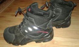 Черные термо-ботинки ecco