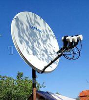 Установка и ремонт спутниковых антенн