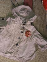 Модный плащ-Куртка,Рубашка Zara baby 12-18 месяцев с утеплен желеткой