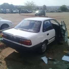 Toyta Corolla stripping for parts at sheeraz auto spares