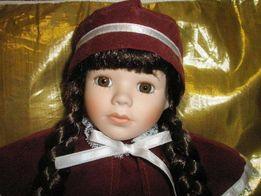 Фарфоровая кукла 40 см Laura The Classique collection Новая!