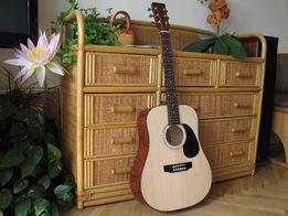 Ergonomiczna gitara akustyczna, nie chińska. Promocja!