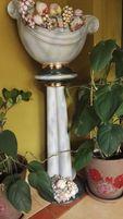 Wazon, donica, kolumna ceramiczna