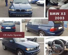 BMW X5 2003 stripping for spares