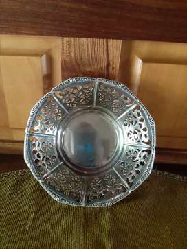 Silverplated Bon Bon Dish