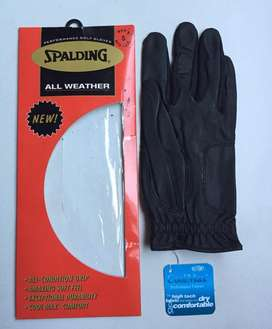 New All weather Spalding Golf Glove- Left / Small