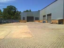 1680m2 warehouse to let in Germiston North