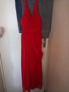 Red Matric Farewell/Bridesmaid Dress