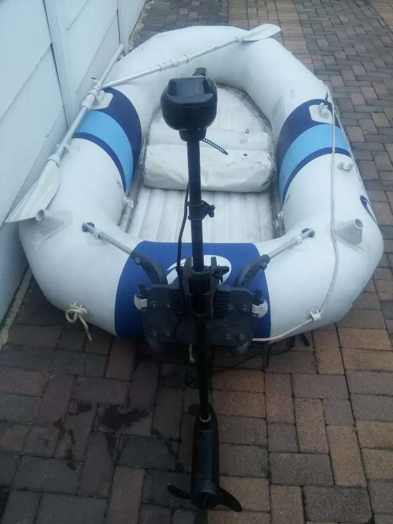 Bestway Hydro-Force Marine Pro inflatable boat 0