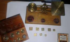 LETTER SCALES copper