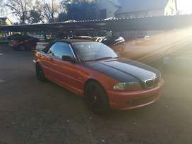 2000 BMW 330CI CONVERTIBLE stripping for spares