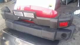 Jeep Wrangler Front and Rear Bumper