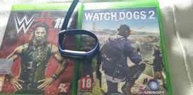Watch dogs 2,WWE 2K18 and fitness watch