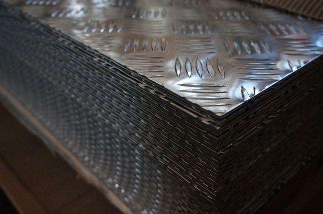 Blacha ryflowana aluminiowa, aluminium 3x1000x2000 Toruń - image 4