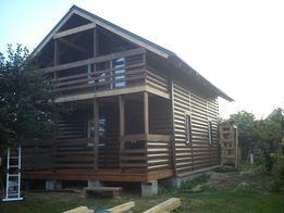 Каркасные дома эконом варианта, мебель из дерева