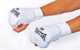 защита кисти накладки битки перчатки карате ткань