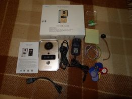 Видеозвонок Anygo Kw02 HD RFID Wi-Fi/LAN PoE камера с ИК подсветкой
