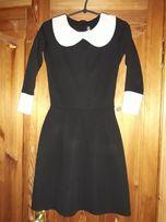 Школьное черное платье