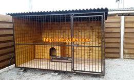 Вольеры для собак 2м/3м, утепленные будки
