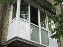 Обшивка балконов, установка металлопластиковых изделий.