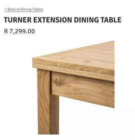 Turner Extension Table