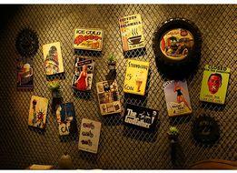 Таблички с метала Постер на стену Декор Бар ПАБ Дизайн интерьера
