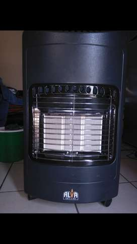 Alva gas heater with free 9kg gas cylinder