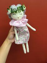 Lalka szmacianka różowa na prezent recznie szyta HIT handmade