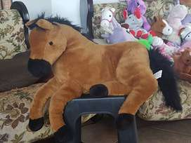 Fluffy horse toys for sale