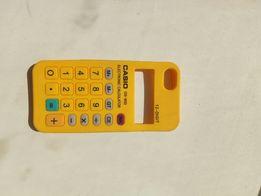 НОВЫЙ силиконовый чехол в виде калькулятора на iphone 5,5s калькулятор
