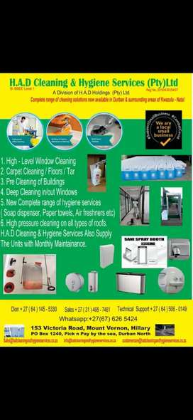 Sanitizing and disinfecting of all types of businesses, shops n more