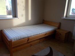 łóżko sosnowe 200 x 90 cm