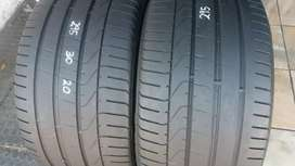 Two tyres sizes 295/30/20 Pirelli normal now available